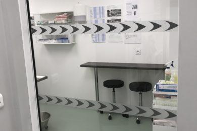 Accès au bloc opératoire
