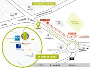 Plan d'accès Orthovet